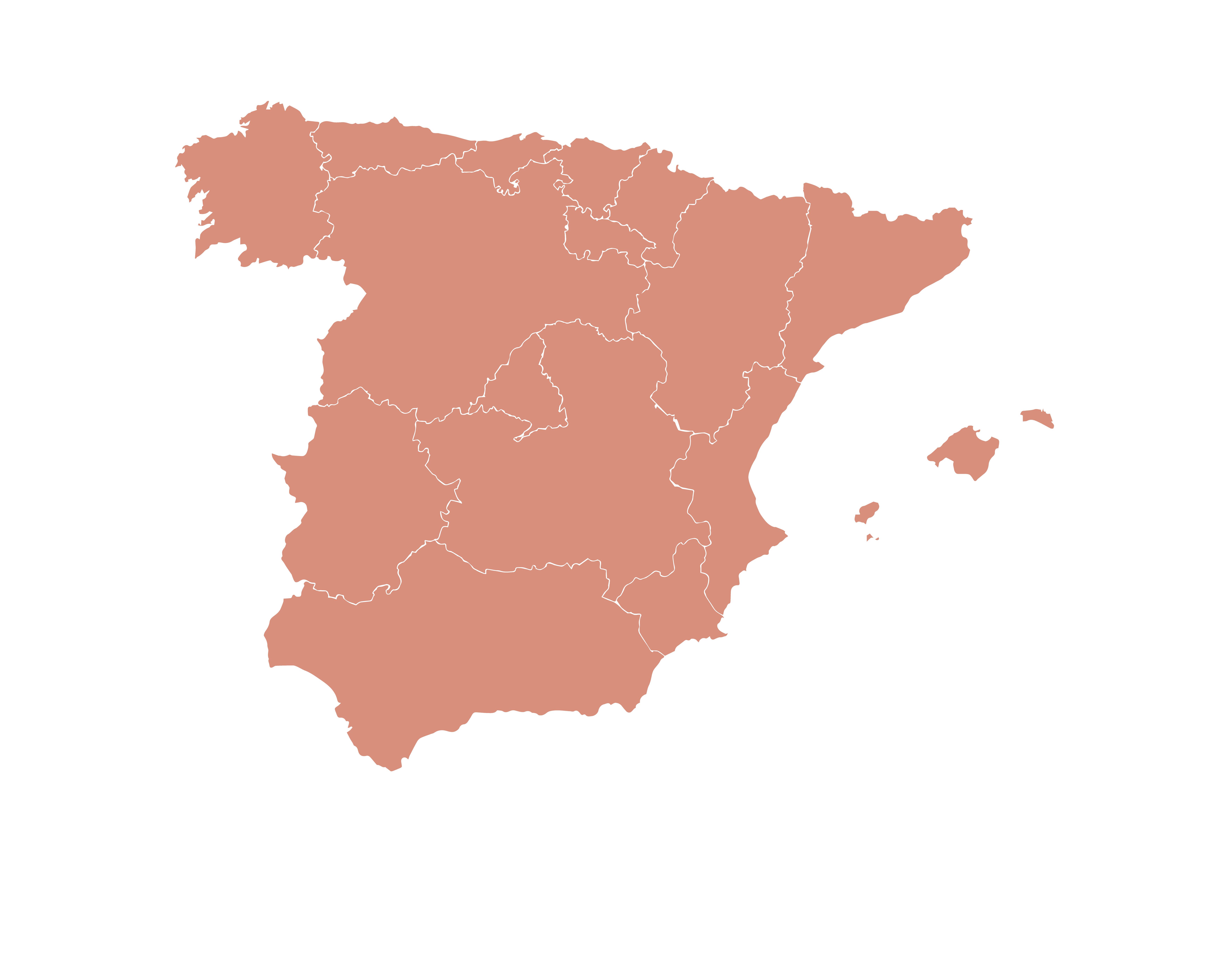 Mapa de productores de Deluz y Compañía